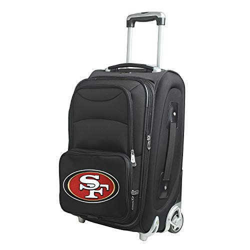 Denco NFL San Francisco 49ers 21-inch Carry-On Luggage