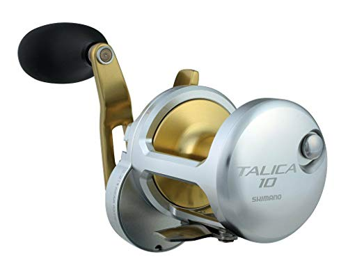 Shimano Talica 12 II Speed Lever drag Big Game Offshore Seafishing Multiplier Trolling Fishing Reel