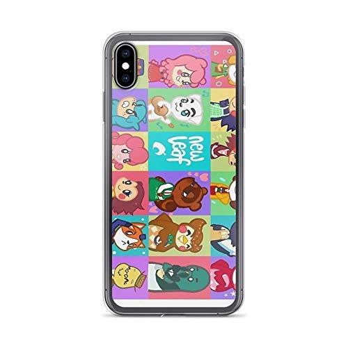 Carcasa para iPhone 6 Plus/iPhone 6s Plus, transparente y antiarañazos cruzando animales: nueva hoja, animal cruzando funda para iPhone 6 Plus, iPhone 6s Plus