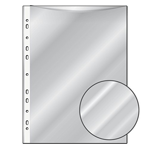 1000 Prospekthüllen / DIN A4 / glasklar