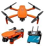 happygirr Dron RC con cámara 4K HD WiFi 120 ° gran angular Cuadricóptero plegable para expertos con un mando a distancia para viajes