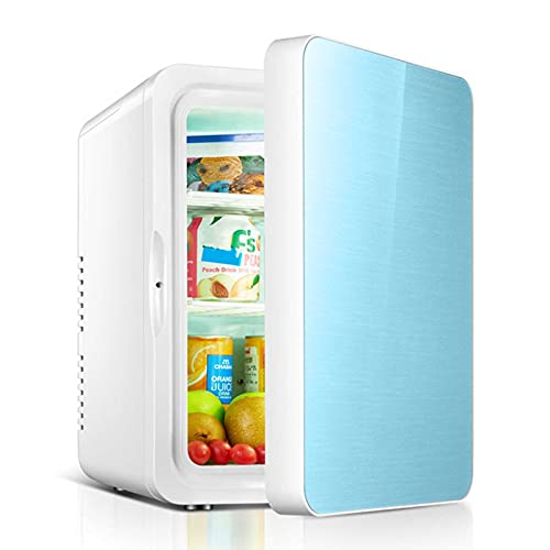 Refrigerador De Coche - Mini Refrigerador 12 litros AC/DC Refrigerador Y Calentador Termoeléctrico Portátil para El Cuidado De La Piel, Alimentos, Hogar Y Viajes, para El Día De La Madre