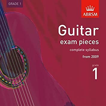 Guitar Exam Pieces from 2009, ABRSM Grade 1