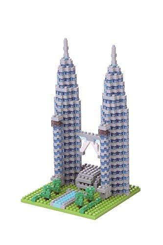 nanoblock - Juego de construcción Torres Petronas