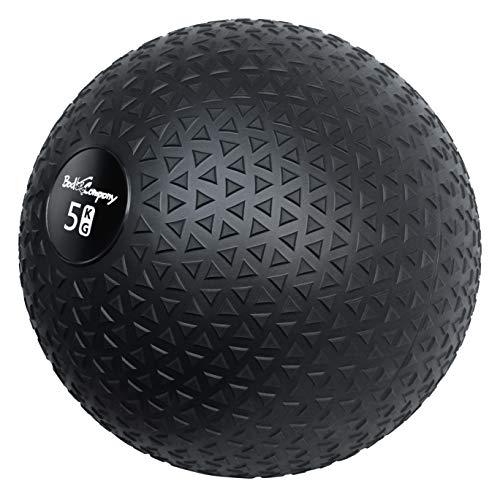 Bad Company Medizinball in 12 Gewichtsstufen I Slamball für Kraftausdauertraining I Vollball mit Gummi-Oberfläche I 5 Kg