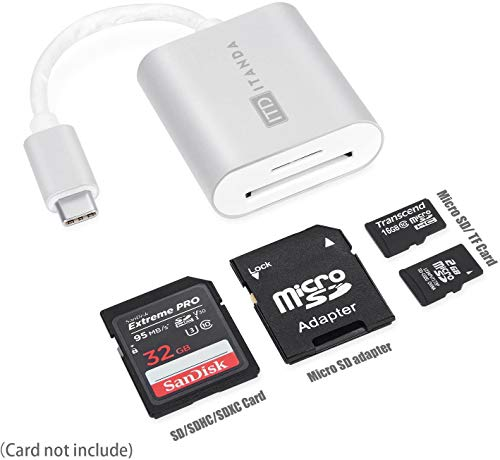 2 Pack USB C to HDMA + USB-C SD Card Reader