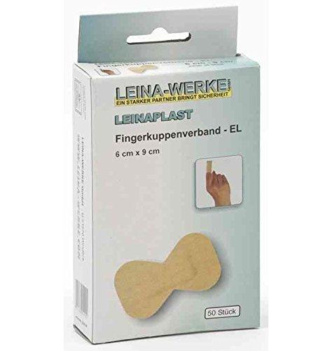 LEINA-WERKE REF 72201 LEINAPLAST Fingerkuppenverband 40 x 70 mm, elastisch