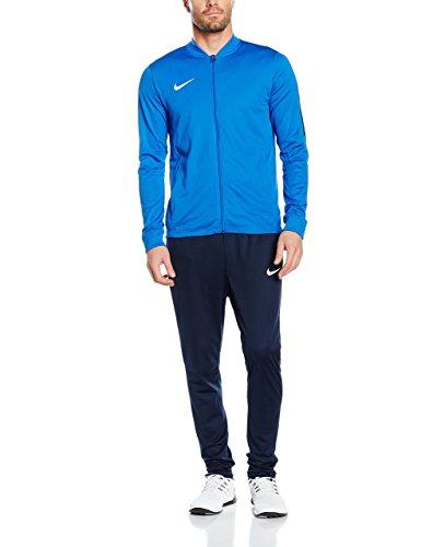Nike Academy Knit - Tuta da calcio Uomo, Blu (Blu Royal/Ossidiana/Bianco), Taglia S