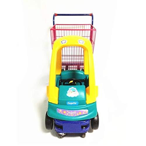 Silla de paseo para bebés Cochecito for compras en el aeropuerto de dibujos animados carrito de supermercado Niño coches Niños Compras carretilla del supermercado Pequeña Infancia Compras Carr