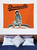 J. Cole Dreamville Tapestry Wall Hanging Blanket Wall Art for Living Room (60'X 51' Inch)