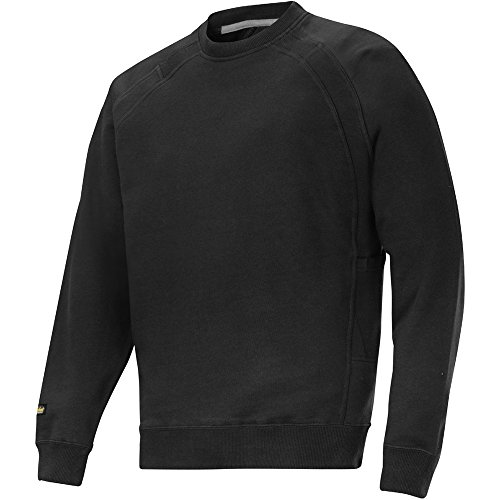 Snickers 28120400006 Sweat-shirt avec multipoches Taille L Noir