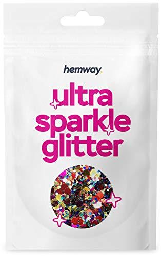 Azul Rojo Hemway Party Mix oro rosa Chunky Multi Propósito del brillo...