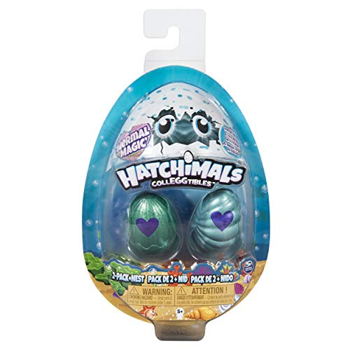 Hatchimals S5 2 Pack with Nest, Toys for Girls, 5 Years & Above, Collectible Toys, Surprise Egg