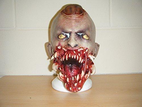 WRESTLING MASKS UK Zombie Dents Sang Deluxe Halloween Monster Complet Tête Masque Déguisement