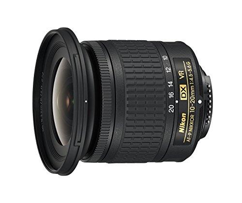 Nikon AF-P DX NIKKOR Zoom-Objektiv 10-20mm f/4.5-5.6G VR, Schwarz