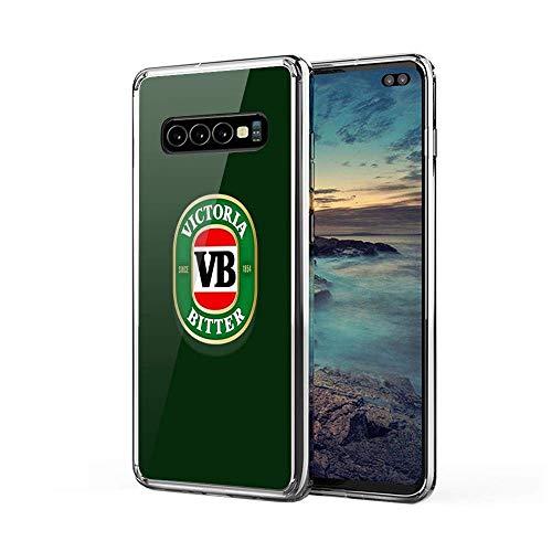 Menggo Samsung Galaxy S10 Funda A Prueba De Choques with TPU Bumper Anti-Rasguños Cajas del Teléfono para Samsung Victoria Bitter Beer