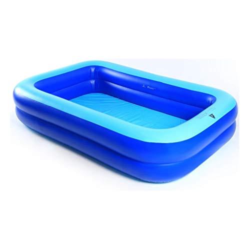 YULAN Opblaasbaar Zwembad Vierkant Bad Vat Volwassen Badkuip Verdikking Verhoging Familie Zwembad Baby Kinderbad