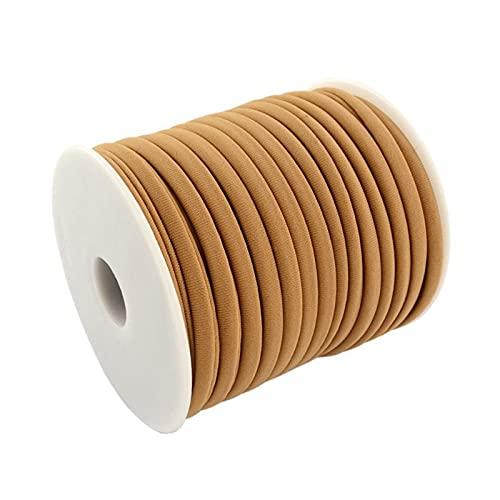 KunmniZ Cordón de Nailon pequeño y Suave de 20 m - Hilo para Manualidades de joyería de Bricolaje para Pulseras Gargantilla Ideal para Hacer Joyas Hilo Mezclado.