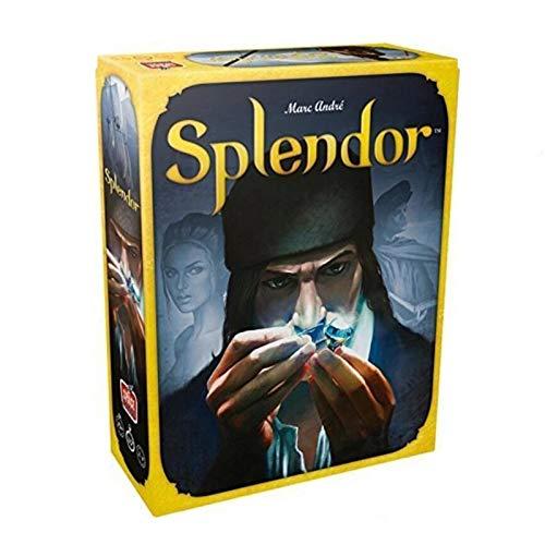 GGSDDDUP The Splendor Brettspiel, Tabellen-Karten-Spiel, Erwachsene Family Party Spielzeug, 2 bis 4 Spieler, Englische Version
