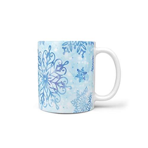 Generic Branded Tazas de café de cerámica duradera retro divertida, taza de agua apta para Lounge White 330 ml