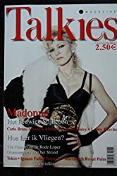 Talkies Magazine Cover Madonna + 5 pages Carla BRUNI Jessica Alba Belgian Edition Juni 2008 * Hard Candy Cover + 6 pages