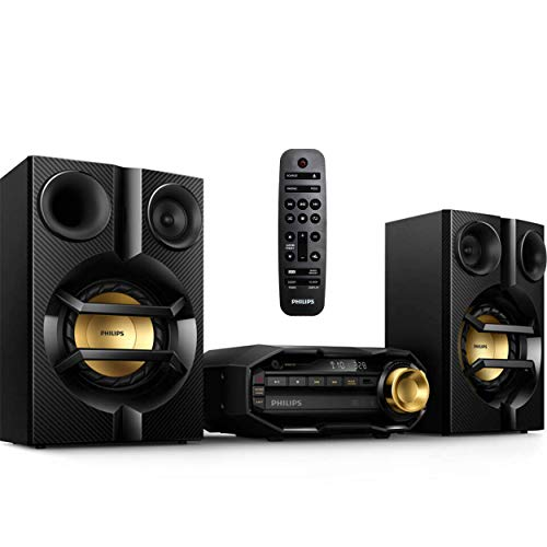 Philips FX10 Bluetooth Stereo System with CD, USB, Remote Control - $161.49