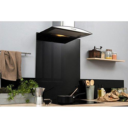 Fondo de campana – negro – 65 cm x 90 cm (HxL): Amazon.es: Hogar