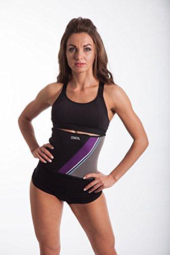 LOREY Hochwertiger Fitness-Belt aus Neopren, Bauchweggürtel, Bodyformer, Abnehmgürtel (XXXL)