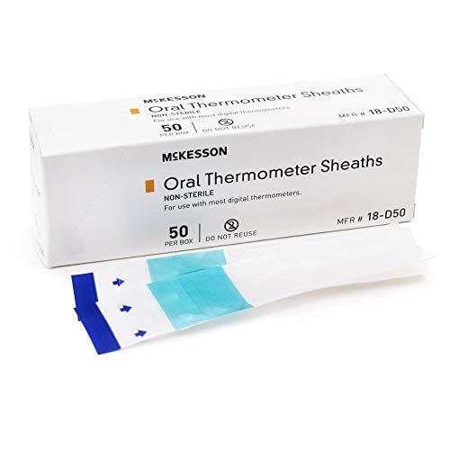MCKESSON Oral Thermometer Sheath Medi-Pak Digital Thermometer (#18-D50, Sold Per Box)