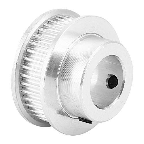 Polea de correa de distribución, Polea de distribución GT2 transparente para uso general para componentes electrónicos para fábrica para uso profesional(40 perforations 6mm)