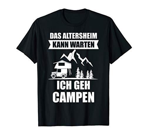 Dachzelt Camping Fan Autodachzelt Zelten Geschenk T-Shirt