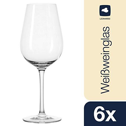 Leonardo 017357 Tivoli Set de 6 Verres à Vin Blanc 440 ML