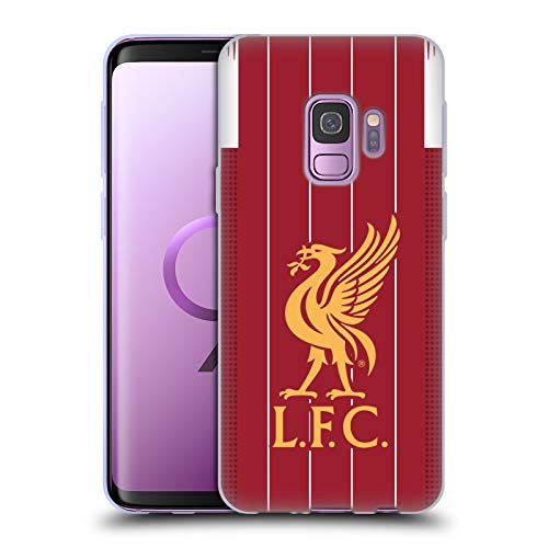 Head Case Designs Officially Licensed Liverpool Football Club Home 2019/20 Kit Soft Gel Case Compatible with Samsung Galaxy S9