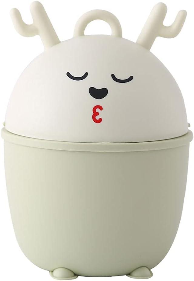 YHshop Indoor Trash can Cute Bedroom Desktop Deer Can Tras security Sales of SALE items from new works