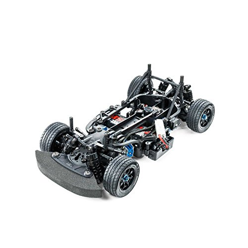 TAMIYA 58647 58647-1:10 RC M-07 Con. Chassis Kit WB225/239, ferngesteuertes Auto/Fahrzeug, Modellbau, Bausatz, Hobby, Zusammenbauen, schwarz