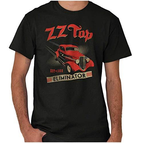ZZ Top Eliminator Est 1969 Graphic T Shirt Men or Women Black