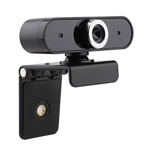 Huieng HD Webcam Web Cam Conferentie Video Bellen Computer Camera met Microfoon voor Computer PC Laptop Desktop met Draaibare Clip,Afstand Leren Apparatuur