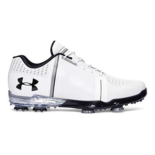Under Armour New Jordan Spieth One White/Black Golf Shoes Mens Size 10