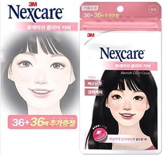 【NEW】3M Nexcare ネクスケア ブレミッシュ クリア カバー ブレミッシュクリアカバー36+36枚(円形)