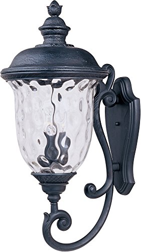 Maxim 3425WGOB Carriage House DC 3-Light Outdoor Wall Lantern,...