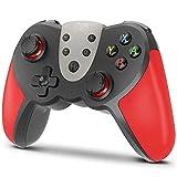 Mando para Nintendo Switch, KINGEAR Wireless Controller para Nintendo Switch Compatible con Switch/Switch Lite/PC, Mando Inalambrico para Juegos con 6 Ejes/Turbo/Control de movimiento/NFC