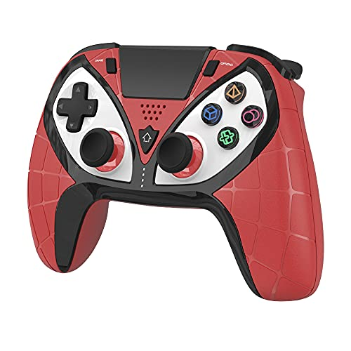 GEEKLIN Wireless Gaming Controller für PS4, Wireless Gamepad Remote Joystick für PS4 / PS3 / Android/iOS/PC mit aktualisierter Joystick, Headset-Buchse und doppelter Vibration