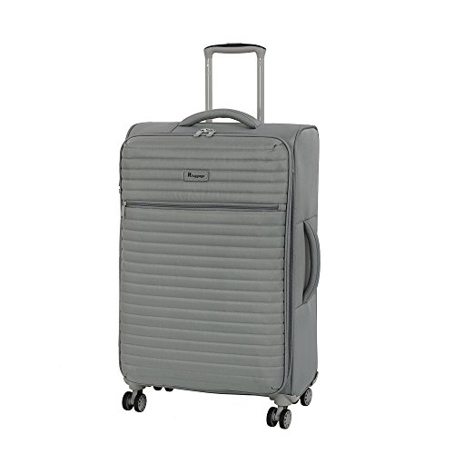 it luggage 27.4' Quilte Lightweight Expandable Spinner, Flint Grey