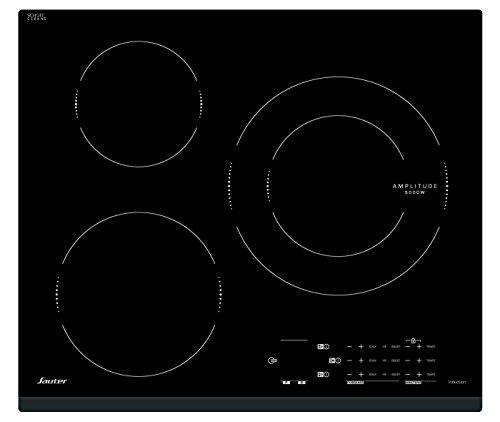 Sauter SPI4368B plaque Noir Intégré Plaque avec zone à induction - Plaques (Noir, Intégré, Plaque avec zone à induction, Verre-céramique, 2200 W, 16 cm)