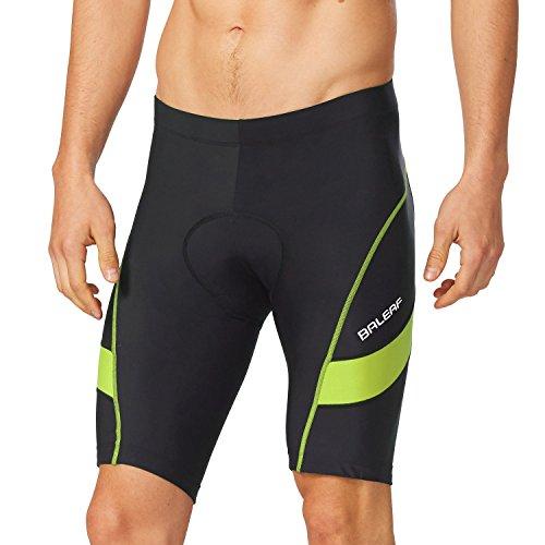 BALEAF Men's Cycling Shorts 3D Padded Bike Shorts UPF 50+ Quick-dry Bicycle...