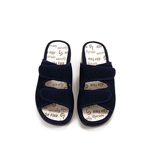 GARZON - Zapatilla CASA 3210-BLM para: Mujer Color: Azul Marino Talla:...