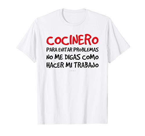 Hombre Regalo Cocinero Camisetas Hombre Manga Corta Originales Camiseta