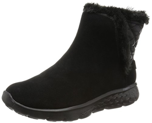 Skechers Damen on-The-GO 400 Cozies Kurzschaft Stiefel, Schwarz (BBK), 39 EU