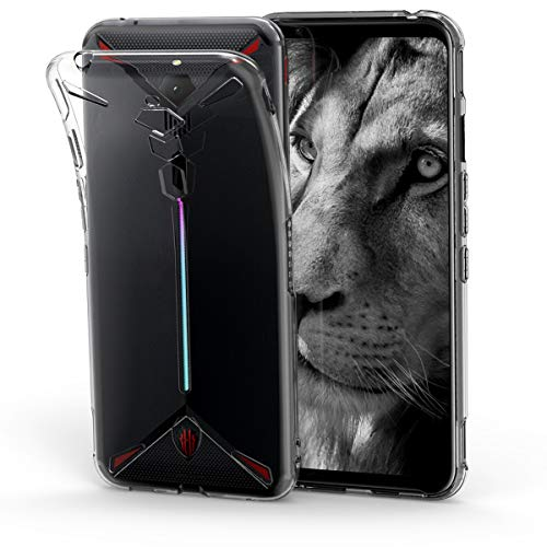 kwmobile ZTE Nubia Red Magic 3 / 3s Hülle - Handyhülle für ZTE Nubia Red Magic 3 / 3s - Handy Case in Transparent