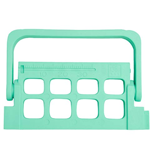 AnhuaDental 8 Holes Autoclavable Endo Files Holder Dispenser Endodontic Drill Stand,Root Canal Files Clean and Autoclaving Block Dental Files Organizer